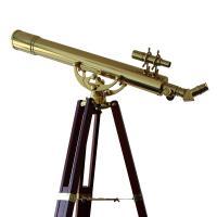 809 B Classical Brass Telescope